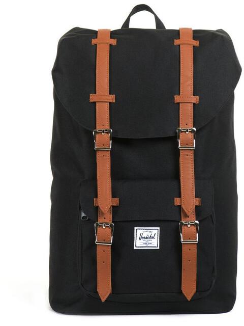 Herschel Little America Mid-Volume Backpack Black/Tan